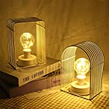 MeterMall Iron House Shape Bulb LED Copper Wire Decoration Night Light Room Layout Decor Home Decoration