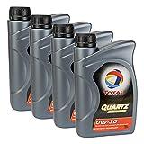 4 x aceite de motor Total Quartz Ineo First 0W-30 1L