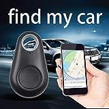 4.0 Smart Finder Bidirectionnel Anti Perdu Dispositif D'alarme GPS Intelligent Pet Child Tracing Locator Wallet Key Tracker+Noir