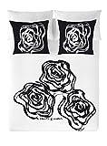 Devota & lomba rosas funda nórdica, algodón, multicolor, cama 150 cm