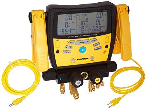 Fieldpiece SMAN460 Wireless 4-Port Digital...
