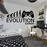 Evolution Player Game Vinilo Adhesivo de pared Basketball Superstar