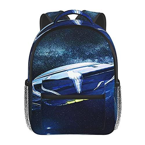 RTUBNSD Kinderrucksack Fliegende Untertasse, Kindergarten Vorschul Tasche Schultasche für Kleinkinder Mädchen Jungen