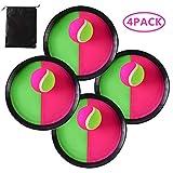 Locisne Klettball Set Klettballspiel für Kinder, Self Stick Disc Paddel und Toss Ball Sportspiel...