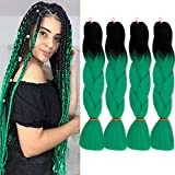 GX Beauty Kanekalon Ombre Braiding Hair Jumbo...