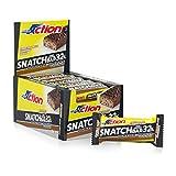ProAction Snatch Bar (doppio cioccolato fondente caramello, confezione da 16 barrette da 6...