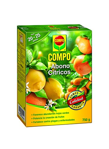 Compo Abono para cítricos, Efecto de...