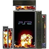 GAMER GRAFFIX Explosion Skin for Playstation 2