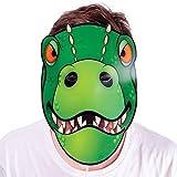 Photo de Tobar Dino Talking Head - Déménagement Visage Fancy Dress Masque Cadeau