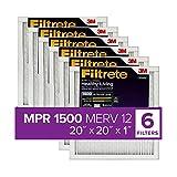 Filtrete 20x20x1, AC Furnace Air Filter, MPR...