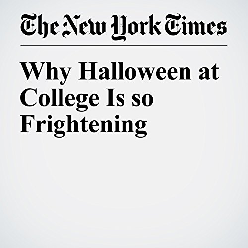 Why Halloween at College Is so Frightening audiobook cover art