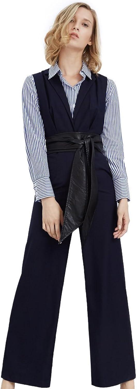 My Bun Autumn Women Long Sleeve Polo Collar Tops Wide Leg Pants Fashion Two Piece Sets