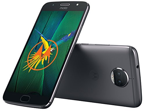 MOTOROLA. Celular Smartphone Moto G5 G5s Plus XT1805 Camara Dual 32GB Space Gray (Desbloqueado)