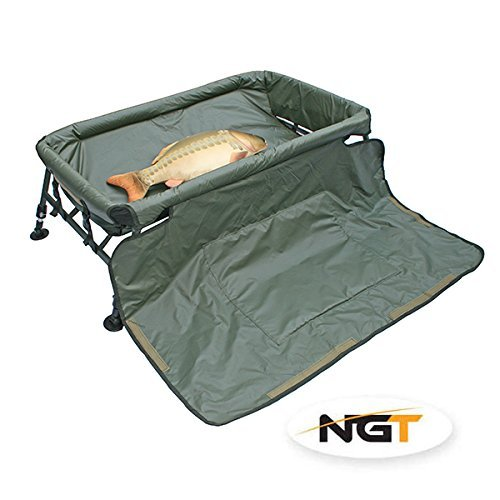 Carp Cradle Unhooking Mat With Knee Pad & Legs Carp Fishing Protective Mat NGT