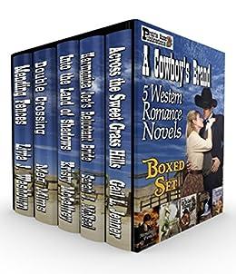 A Cowboy's Brand: 5 Western Romance Novels by [Livia J. Washburn, Meg Mims, Sarah J. McNeal, Kristy McCaffrey, Gail L. Jenner]