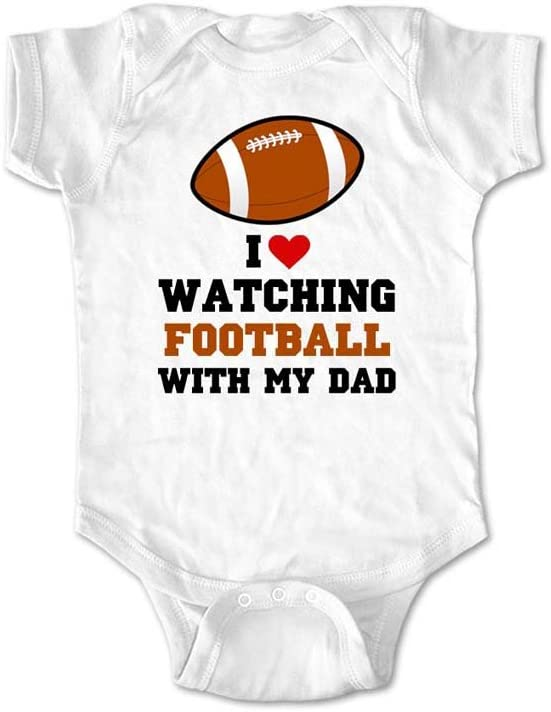 for Football Fans Long Sleeve Baby Vests Bodysuits Me and My Daddy Love Fulham