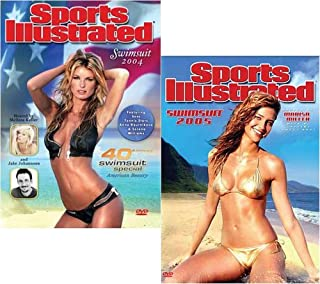 Sports Illustrated Swimsuit 2004 (40th Anniversary Swimsuit Special American Beauty) and 2005 (2 Pack)