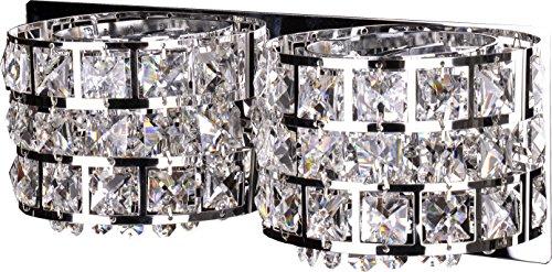 Candellux Kristalldesign vägglampa/vägglampa lampor nya