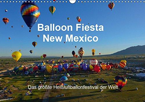 Balloon Fiesta New Mexico (Wandkalender 2019 DIN A3 quer): Das größte Heißluftballonfestival der Welt. (Monatskalender, 14 Seiten )