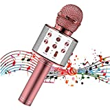 Mikrofon für Kinder, Kindermikrofon zum Singen, Bluetooth-Mikrofon...