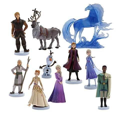 Disney Frozen 2 Deluxe Figure Play Set 10 Piece