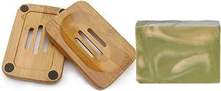 Mijo GREEN WAVE Zitronengras Seife Lemongrass handgemachte Naturseife mit Bio Olivenöl vegan ca. 100g  Seifenschale