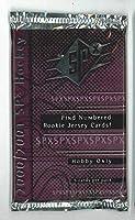 NHL 2000-2001 Upper Deck SPX 1パック