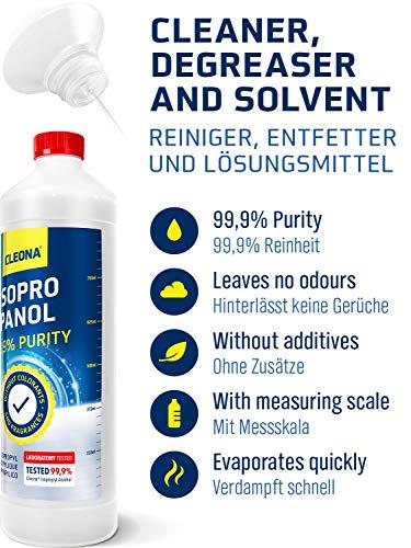 Cleona Isopropanol Alkohol 99,9% Erfahrungen & Preisvergleich