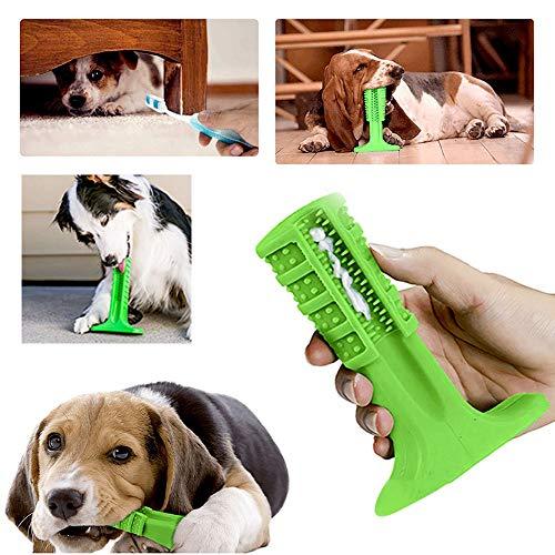 Escova Dentes Mordedor Canina Cachorro Cao Pet Limpeza Bucal Remove Tartaro