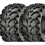 22-12-8,22X12-8, 22X12.00-8, ATV TIRE, UTV TIRE 6 PLY RATED KENDA BEARCLAW MATCHED SET, INCLUDES 2 TIRES- SELECT FROM 24 SIZES LISTED