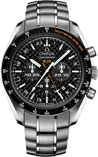 Omega Speedmaster HB-SIA Co-Axial GMT Chronograph Numbered Edition Men's Watch 321.90.44.52.01.001