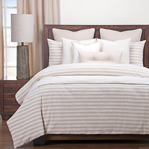 Buy SIScovers Luxury Farmhouse Barley Cotton-Blend Cottage Down Alt Duvet Set 6 Piece Full
