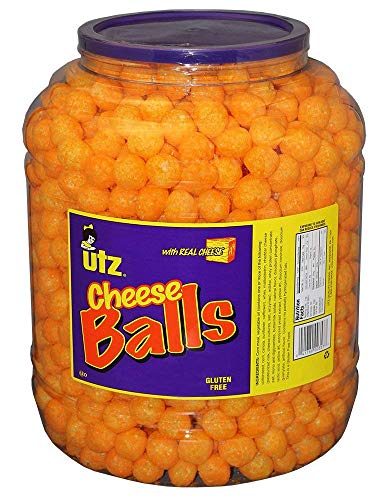 Utz Cheese Balls – 35 Ounce Barr...