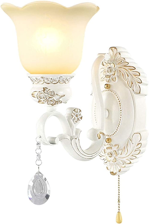 Rindasr Europische Wandlampe, Wohnzimmerhintergrundwandlampe des Schlafzimmerseitenganggangs kreatives Treppenlicht