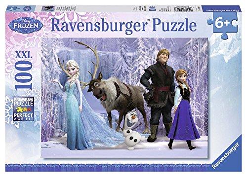 Ravensburger 10516 - Frozen La Regina delle Nevi, Puzzle 100 Pezzi XXL