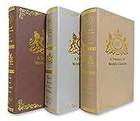 イミテーションブック 辞典 カラー 本 模型 フェイクブック インテリア (小3冊ランダムセット)