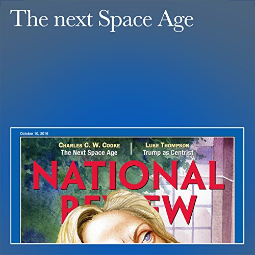 The Next Space Age audiobook cover art