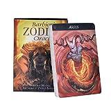 QIANGU Tarocchi, Barbieri Zodiaco Oracle Tarot 26 Carte Mazzo Guida Misteriosa Divinazione Destino