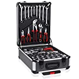 718 Pcs <span class='highlight'>Tool</span> Set Case <span class='highlight'>Mechanic</span>s Kit Box Organize Castors <span class='highlight'>Tool</span>box Trolley   Free Glove Amazing Tour