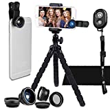 Best CamKix® Smartphone Camera Lenses - Smartphone Photography Kit - Flexible Cell Phone Tripod Review