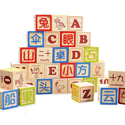 GG-kids toys Ensemble de Jouets éducatifs PCS Building Block Jouets pour Enfants d'âge préscolaire garçon et Filles-Pack dans Le Sac de Rangement Combinaison sino-Britannique