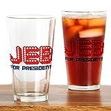 CafePress Jeb Bush Verre à bière President claire