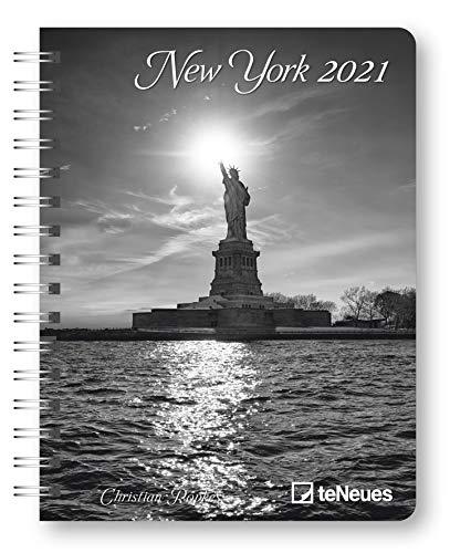 New York 2021 - Diary - Buchkalender - Taschenkalender - 16,5x21,6: Diary