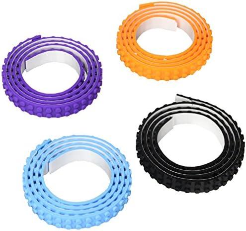 Build Bonanza Self Adhesive Tape Works Building Block Tape Purple Black Turquoise Orange product image