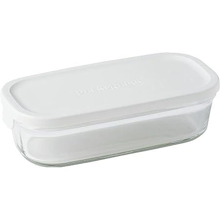 イワキ 保存容器 パック&レンジ 浅型 ハーフ 500ml ホワイト 冷凍 オーブン レンジ 可能