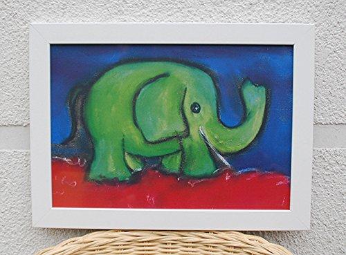 Kinderposter gründer Elefant A4