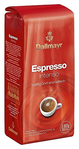 Dallmayr Kaffee Espresso Intenso Kaffeebohnen, 4er Pack (4 x 1 kg)