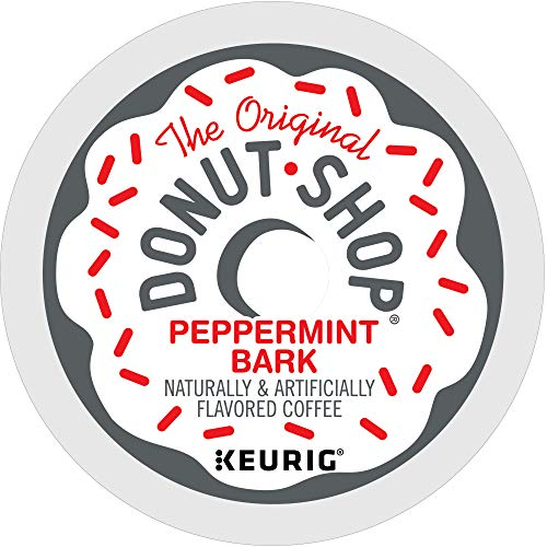 The Original Donut Shop Peppermint Bark, Single-Serve Keurig K-Cup Pods, Flavored Light Roast Coffee, 96 Count
