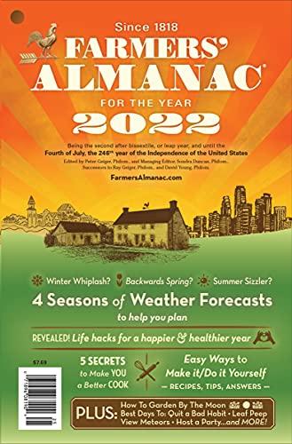 Farmers' Almanac 2022 by [Farmers' Almanac]