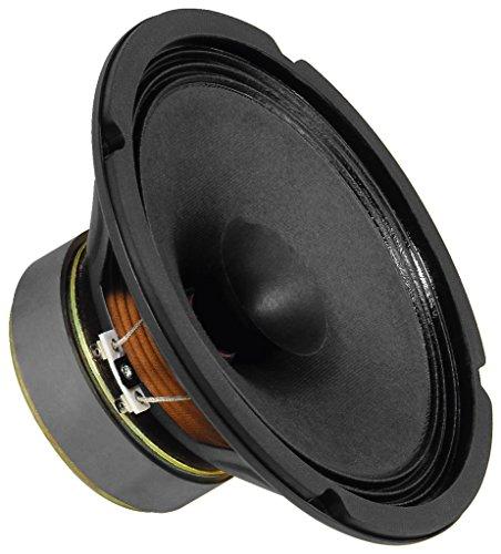 MONACOR SP-200X Breitband-Lautsprecher, kompaktes Speaker-Modul ideal für klanglich besonders geforderte PA-Systeme oder große Tonsäulen, in Schwarz